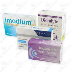 Diarrhoea Pack 100mg x 4