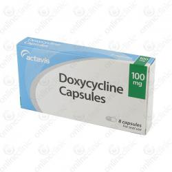 Doxycycline 100mg x 64